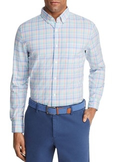 Vineyard Vines Rum Punch Plaid Slim Fit Sport Shirt