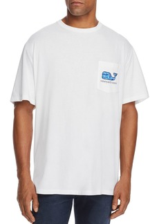Vineyard Vines Sailing Logo Graphic Pocket Tee