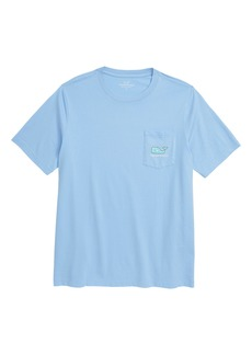 vineyard vines Sailing the Vineyard Whale Pocket T-Shirt (Big Boys)