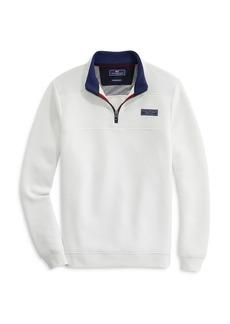 Vineyard Vines Saltwater Fleece Quarter Zip Sweater