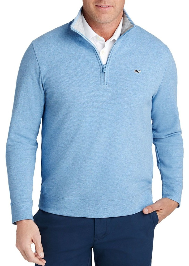 Vineyard Vines Saltwater Quarter-Zip Sweatshirt