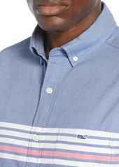 vineyard vines Tucker Slim Fit Sandy Stripe Sport Shirt
