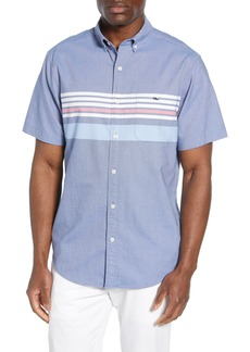 vineyard vines Tucker Slim Fit Sandy Stripe Sport Shirt