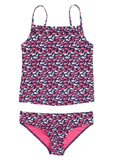 vineyard vines Scattered Whale Two-Piece Tankini Swimsuit (Toddler Girls, Little Girls & Big Girls)