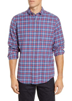 vineyard vines Schooner Classic Fit Tucker Plaid Flannel Button-Down Shirt