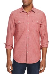 Vineyard Vines Sea Breeze Dockman Textured Classic Fit Shirt