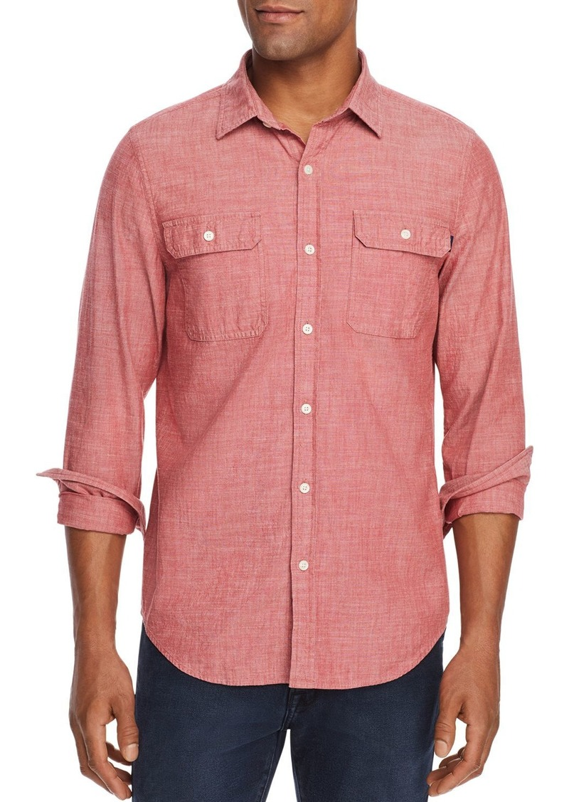 Vineyard Vines Sea Breeze Dockman Textured Classic Fit Shirt