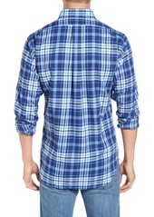 Vineyard Vines Seawater - Tucker Slim Fit Plaid Sport Shirt