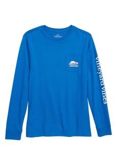 vineyard vines Send It Whale Pocket T-Shirt (Big Boys)