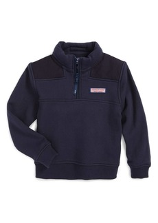 Vineyard Vines 'Shep' Quarter Zip Pullover (Toddler Boys, Little Boys & Big Boys)