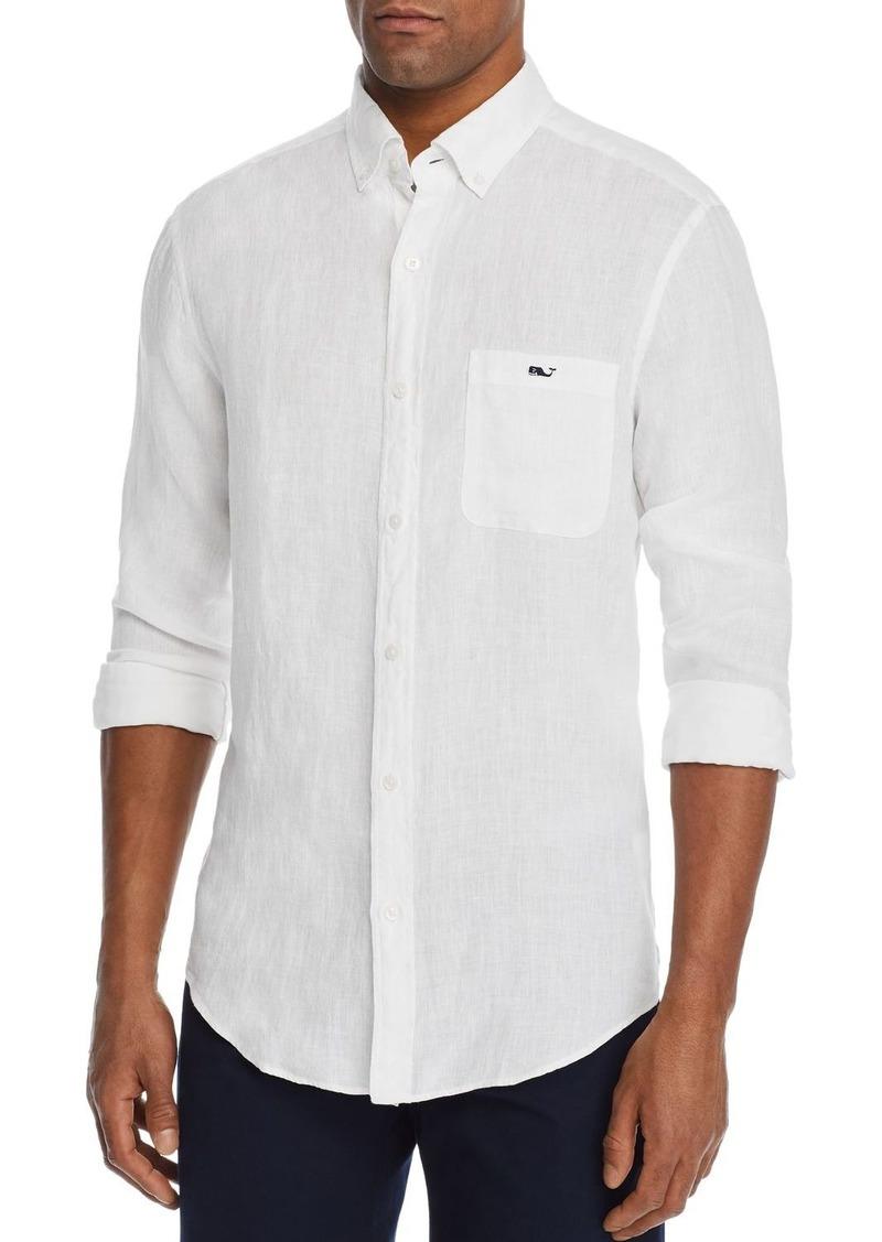 Vineyard Vines Shipwrecker Linen Classic Fit Button-Down Shirt