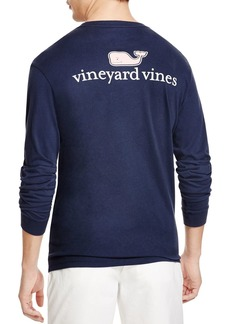 Vineyard Vines Signature Whale Long Sleeve Tee