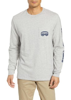 vineyard vines Ski Goggles Long-Sleeve Pocket T-Shirt