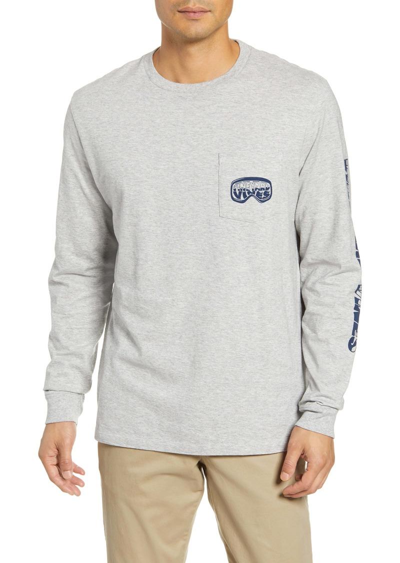 vineyard vines Ski Goggles Long-Sleeve Pocket T-Shirt