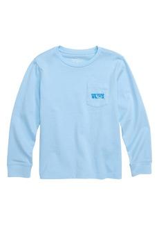 vineyard vines Ski Knockout Whale Pocket T-Shirt (Big Boys)