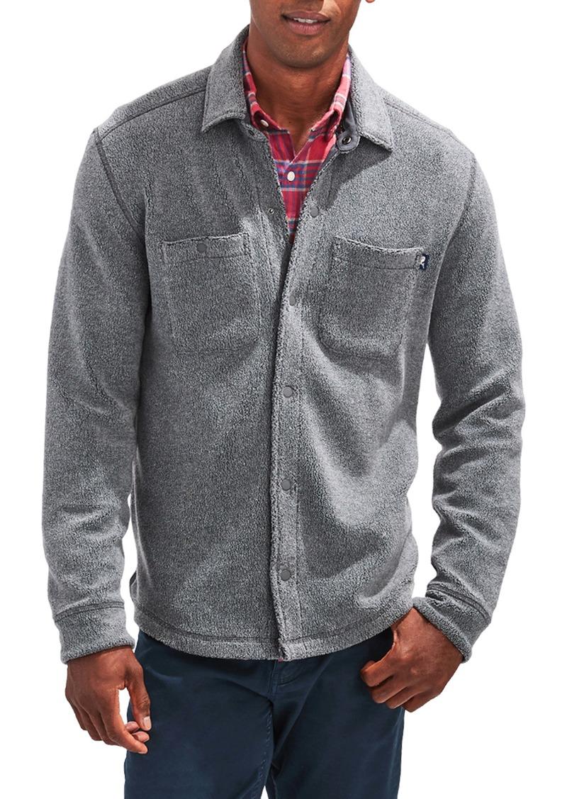 vineyard vines Snap-Up Shirt Jacket