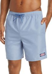 Vineyard Vines Solid Bungalow Swim Shorts