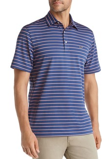 Vineyard Vines South Hampton Sankaty Striped Classic Fit Jersey Polo Shirt