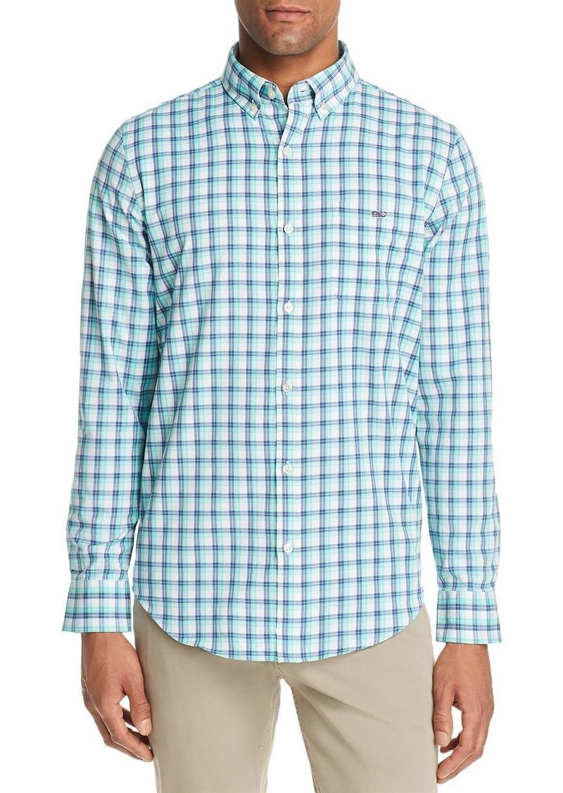 Vineyard Vines South Street Tucker Plaid Slim Fit Button-Down Shirt