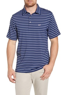 vineyard vines Southampton Regular Fit Stripe Polo