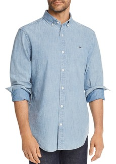 Vineyard Vines St. Lawrence Chambray Classic Fit Button-Down Shirt