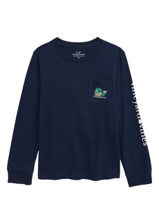 vineyard vines St. Paddy's Day Whale Graphic Tee (Toddler & Little Boy)