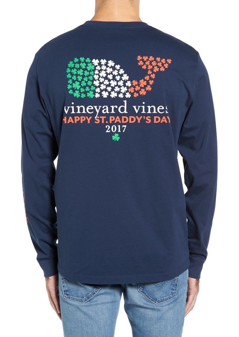 028a341c8 Vineyard Vines Vineyard Vines St. Patrick's Day Pocket T-Shirt | T ...