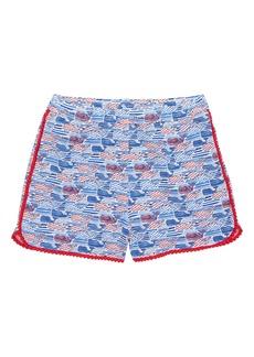 vineyard vines Stars & Stripes Pull On Shorts (Little Girls & Big Girls)