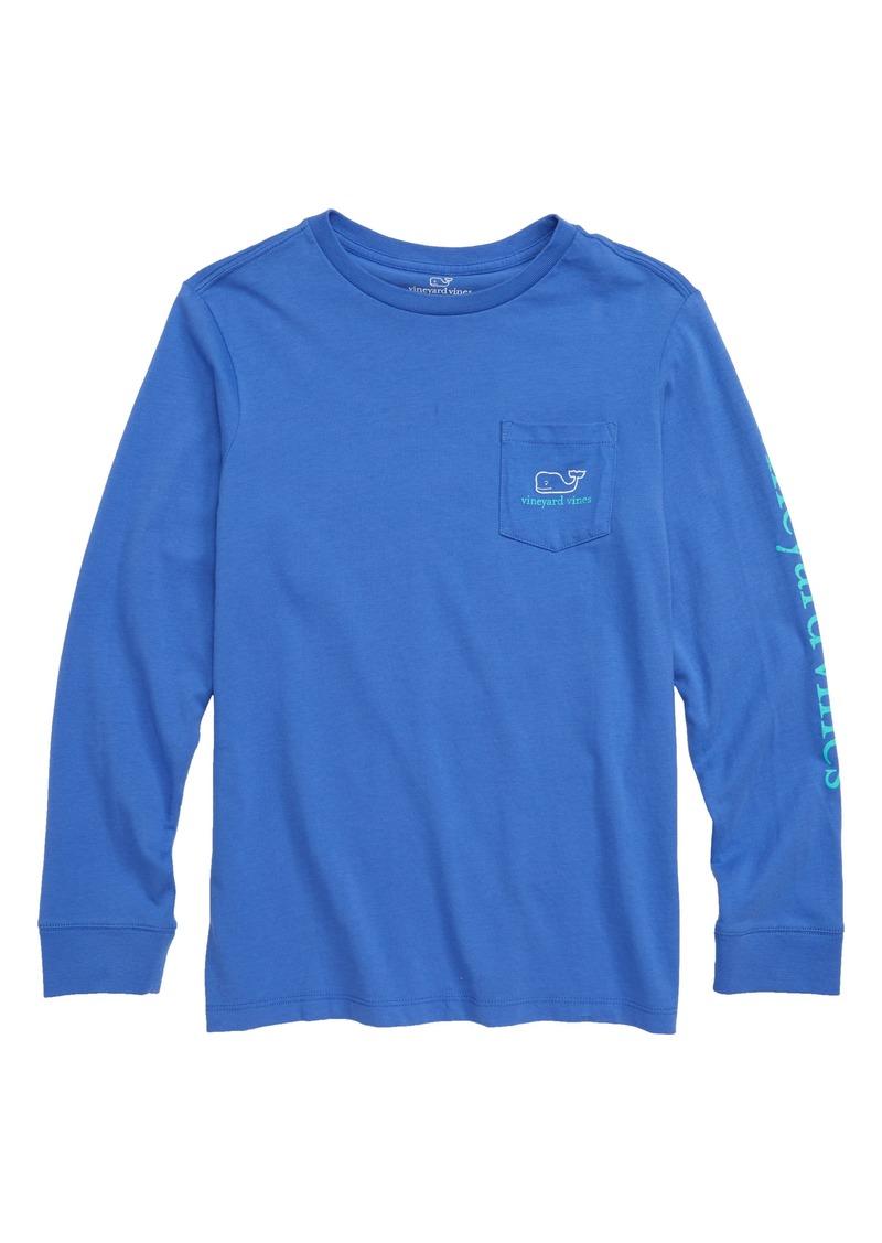 fc8ed164 Vineyard Vines vineyard vines Tw-Tone Vintage Whale Pocket T-Shirt ...
