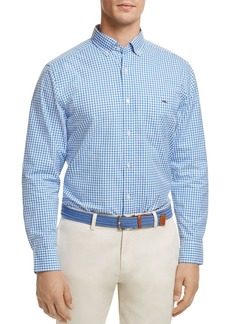 Vineyard Vines Stowaway Gingham Button-Down Classic Fit Shirt