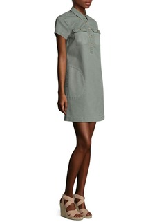 Vineyard Vines Stretch Utility Shirt Dress