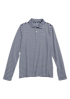 vineyard vines Stripe Long Sleeve Polo (Toddler Boys, Little Boys & Big Boys)