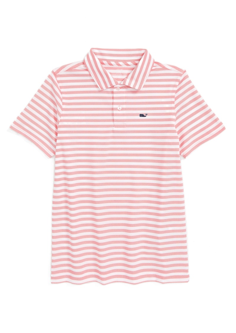 1bb04e13e Vineyard Vines Vineyard Vines Stripe Polo (Big Boys)