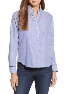 vineyard vines Stripe Ruffle Shirt