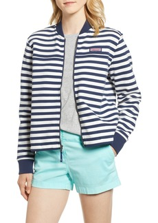 vineyard vines Stripe Shep Bomber Jacket