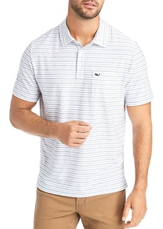 Vineyard Vines Striped Classic Fit Polo Shirt
