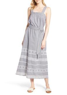 Vineyard Vines Striped Maxi Dress