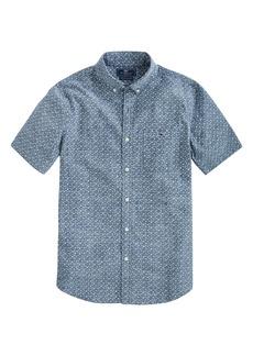 vineyard vines Strong Breeze Tucker Slim Fit Short Sleeve Button-Down Shirt