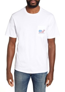 vineyard vines Surf Flag Pocket Graphic Tee