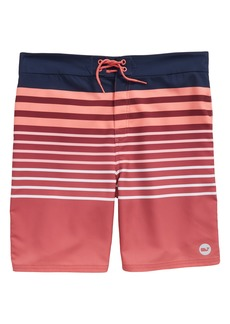 vineyard vines Surflodge Stripe Board Shorts (Big Boys)