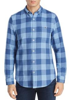 Vineyard Vines Swan Neck Tucker Buffalo Plaid Slim Fit Button-Down Shirt