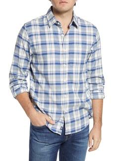 vineyard vines Tamarind Longshore Slim Fit Plaid Flannel Button-Up Shirt