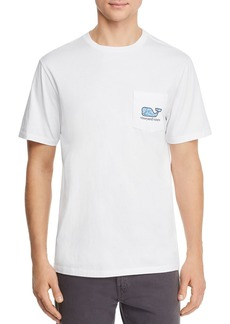 Vineyard Vines Tarpon Fish-Logo Graphic Pocket Tee