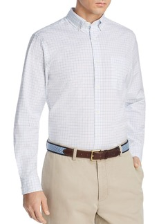 Vineyard Vines Tattersall Tucker Grid-Print Classic Fit Button-Down Shirt