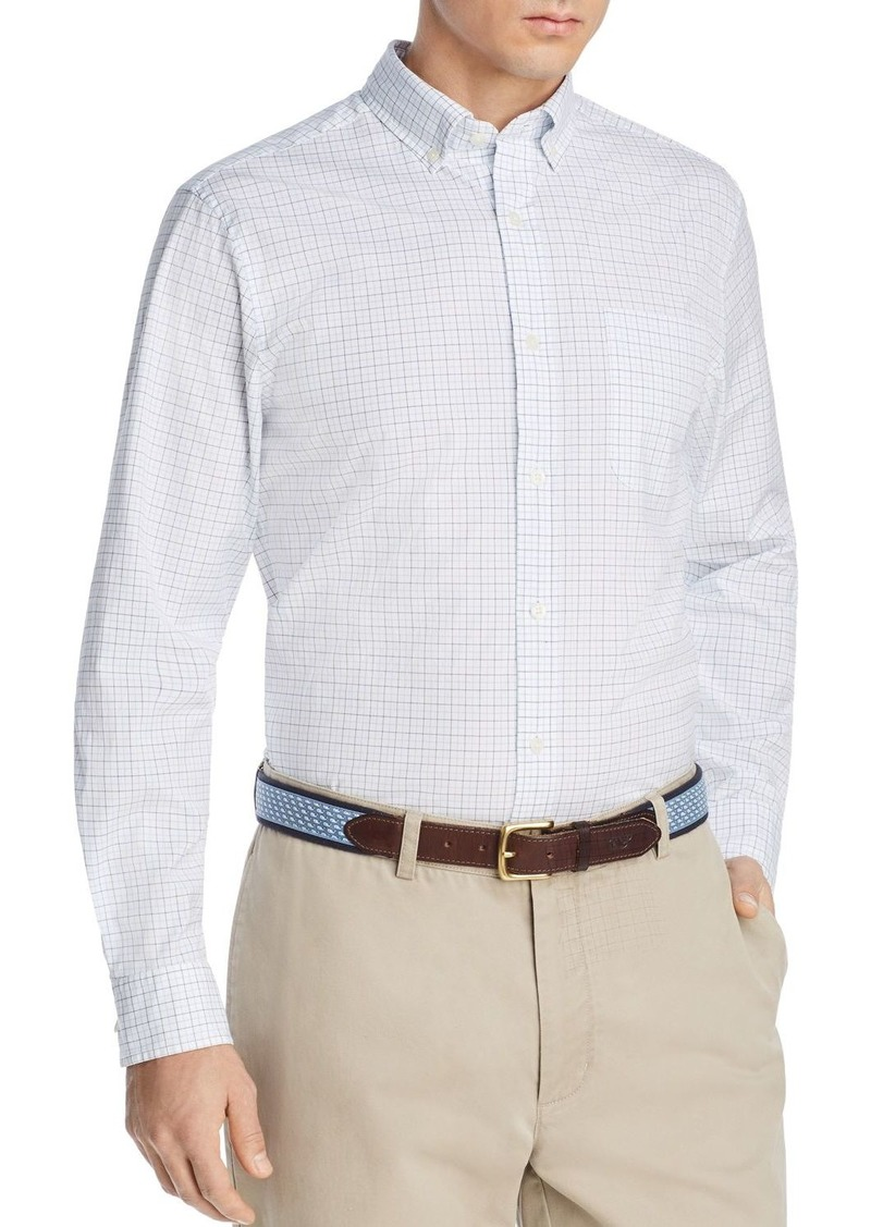 Vineyard Vines Tattersall Tucker Grid-Print Classic Fit Button-Down Shirt