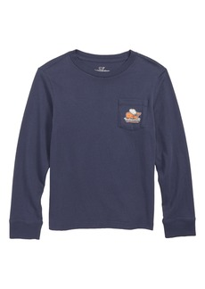 vineyard vines Thanksgiving Turkey Pocket T-Shirt (Big Boys)