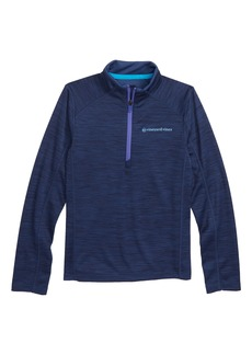 vineyard vines The New Nine Mile Quarter Zip Top (Big Boys)