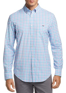 Vineyard Vines Tiki Bar Plaid Classic Fit Button-Down Shirt