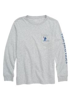 vineyard vines Tip Toe Touchdown Pocket T-Shirt (Big Boys)
