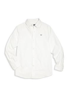 Vineyard Vines Toddler's, Little Boy's & Boy's Long Sleeve Cotton Shirt